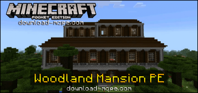 Карта Woodland Mansion PE [Творение]