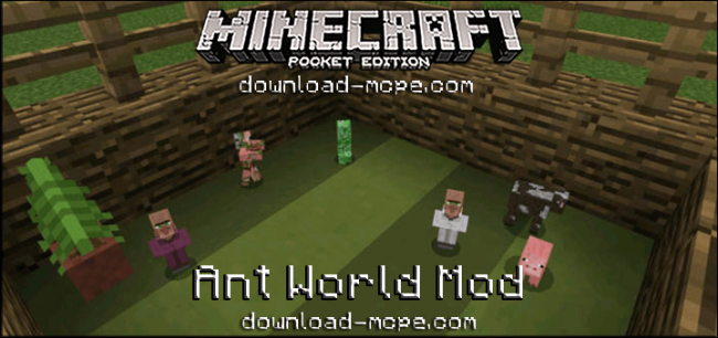 Мод Ant World 0.16.0