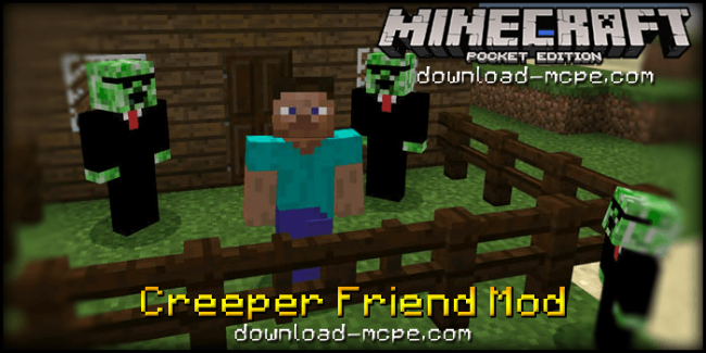 Мод Creeper Friend 0.16.0