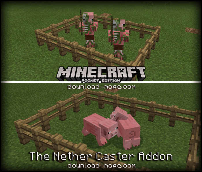 Мод The Nether Caster 1.2.3/1.2.2/1.2.1/1.2