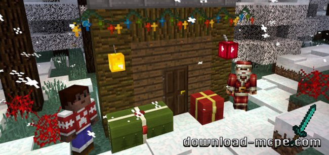 Текстур пак Christmas Decorations 1.0/0.17.0