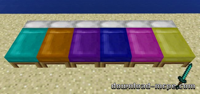 Мод Dyeable Beds 1.0.5+