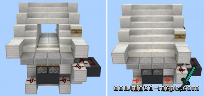 Карта 10 Redstone Contraptions for Houses