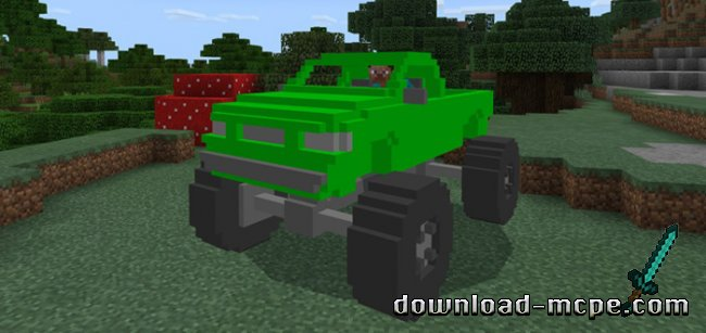 Мод MonsterTruck 1.1.1+
