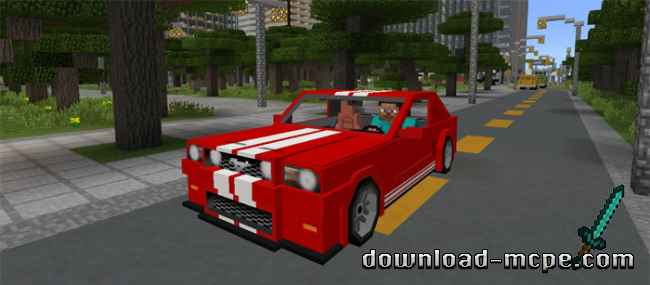 Мод Sports Car: Ford Mustang 1.1.7+