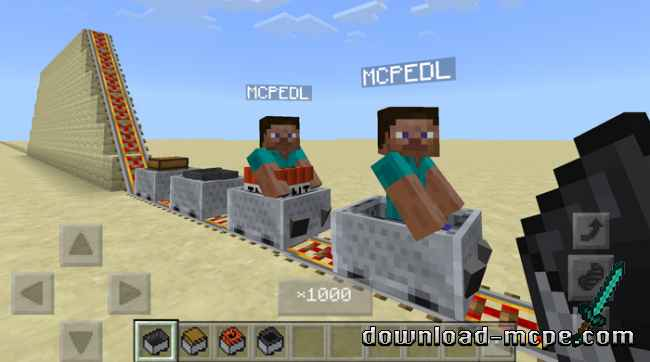 Мод Attraction Minecart 1.2.10+