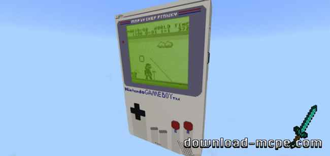 Карта Working Nintendo Game Boy [Редстоун]