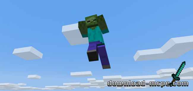 Мод Flying Zombies 1.6.0+