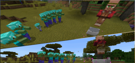 Мод Entity Perimeters or Barriers 1.11