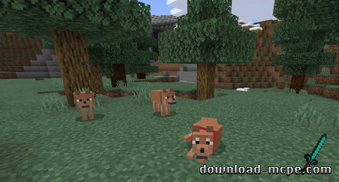 Мод Wolves+ 1.13