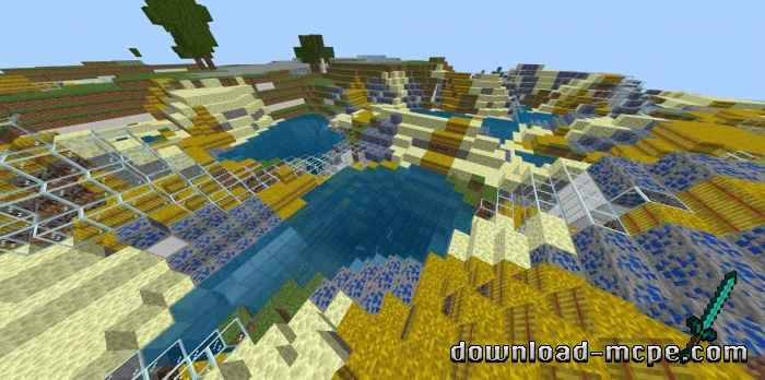 Мод Biome Randomizer 1.13