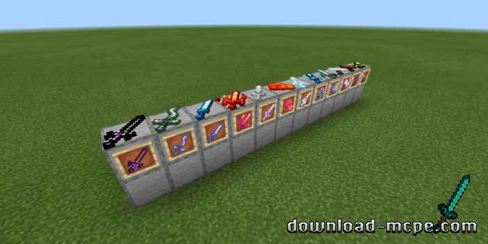 Мод Elemental Weapons 1.13