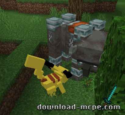 Мод Pokecraft Evolution 1.14
