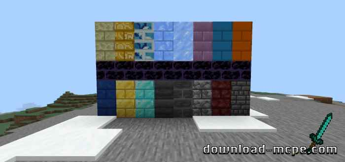 Мод More Bricks 1.14