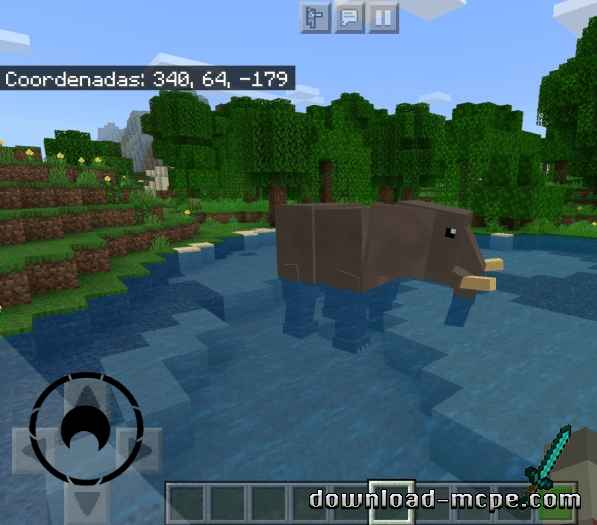 Мод Amazing Wildlife 1.16