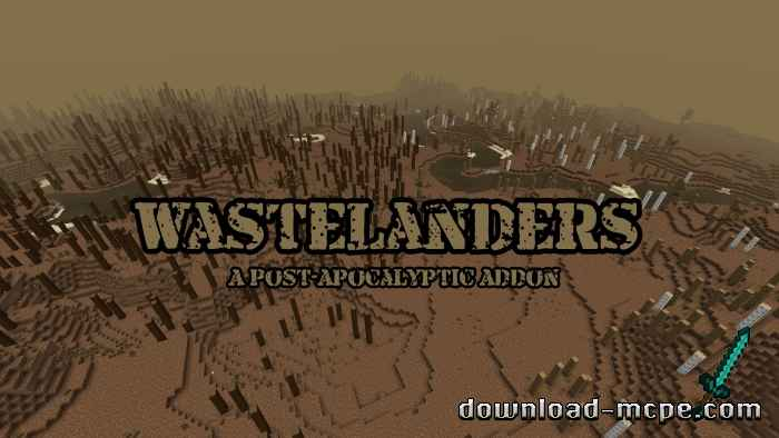 Мод WasteLanders Version 1.2 1.16
