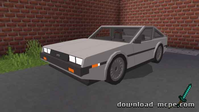 Мод DeLorean DMC12 1.16