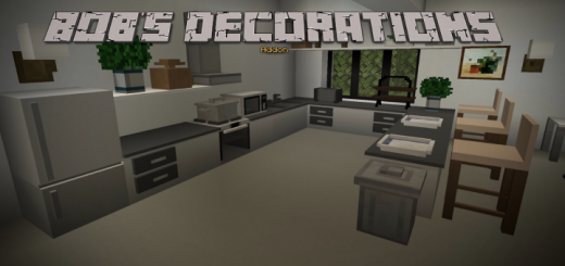 Мод Bob's Decoration & Furniture 1.16+