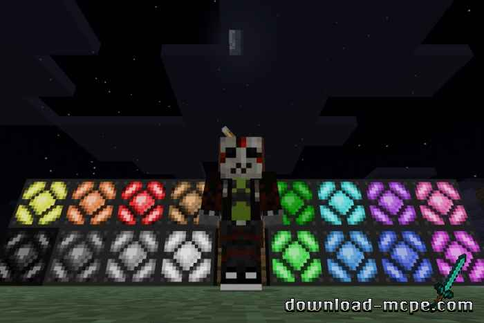 Мод Colored Redstone Lamps 1.16.201