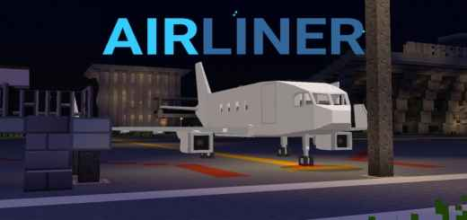 Мод Airliner Official 1.16